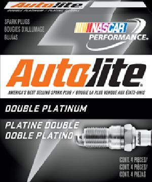 AUTOLITE DOUBLE PLATINUM SPARK PLUGS