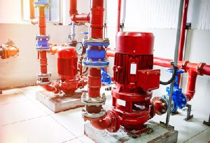 FIRE PUMPS AND FIRE HOSE REELS