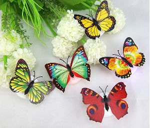 Butterfly Led Night Stickers