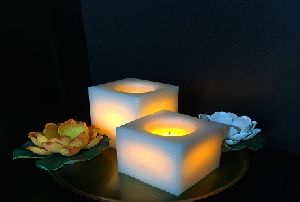 Square Led Candles