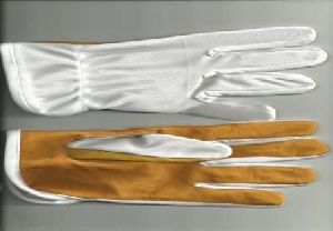 Nylon Leather Hand Gloves