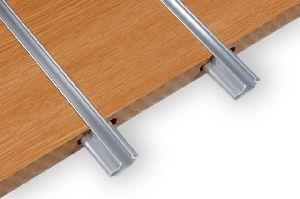 Aluminium Slatwall Inserts