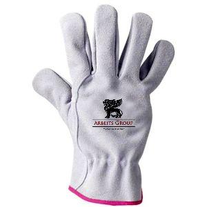 Cow Split Drivers Glove