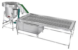 Cascade Type Filth Washing System With Infeed Conveyor