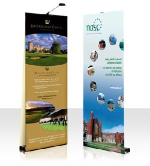 Roll Up, Scroll Up and Hanging Banner