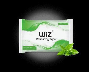 Mint Refreshing Wet Wipe