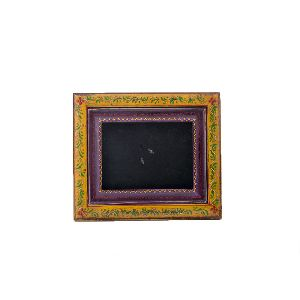 Antique Floral Design Photo Frame