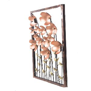 Iron Flowers Home Decorative Wall Hanging
