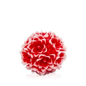 Ball Rose Candle