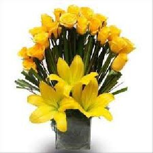 Yellow Flower Bouquet