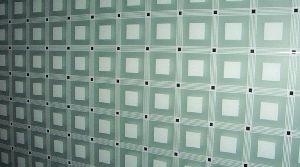 Silk Screened Decorative Glass