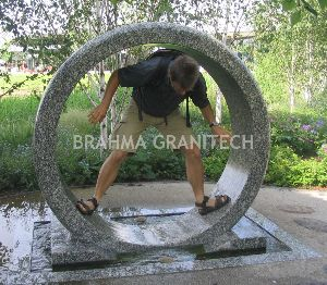 Granite Ring Fountain