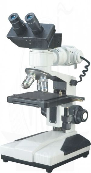 Binocular Co Axial Metallurgical Microscope