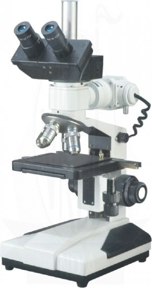 Trinocular Co Axial Metallurgical Microscope