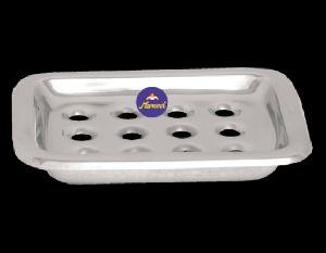 Square Floor Soap Dish