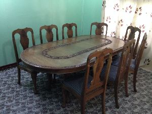 Antique Dining Table Set