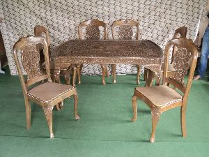 Handmade Dining Table Set