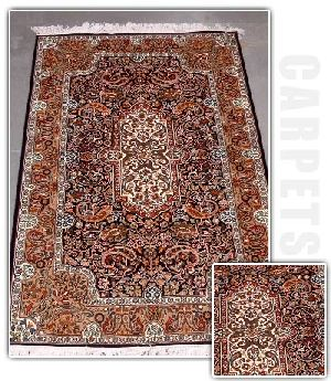 Handmade Hand Knotted Silk Carpets
