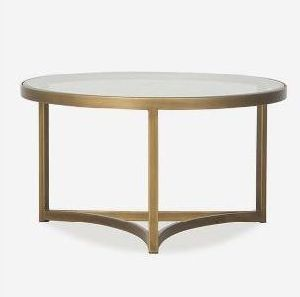 Antique Brass Coffee Table