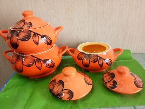 DONGA SET COLOUR PAINTING 3PCS T/C