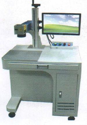 Cabinet Fiber Laser Marking Machine