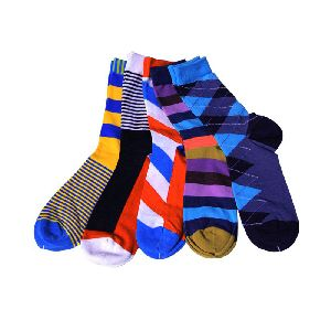 Colourful Cotton Socks