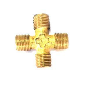 Male Brass Cross