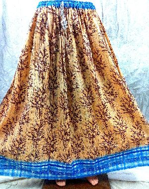Various Heart Touching Colorful Designer Patterns Handloom Cotton Long Skirts