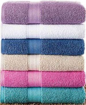 Solid Dyed Dobby Towel 01