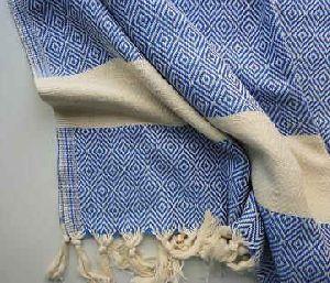 Yarn Dyed Jacquard Fouta Beach Towel