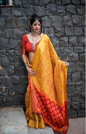 Siya Designer Patola Silk Saree-2
