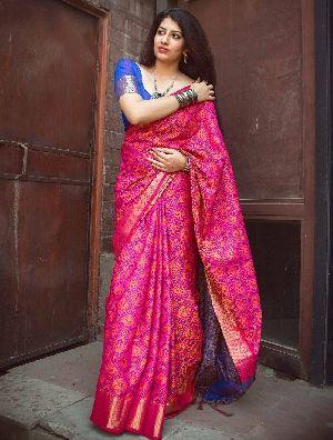 Siya Designer Patola Silk Saree 5