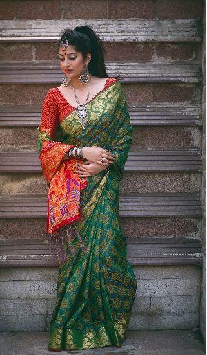 Siya Designer Patola Silk Saree 6