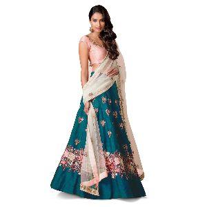 Fashmina Womens Designer Bridal Lehenga Choli F-7013(a)