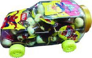 Roller Coaster Milk Car Chocolate Biscuit