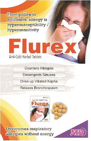 Flurex Auti Cold Herbal Tablets