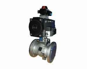Ball Type Flush Bottom Valve