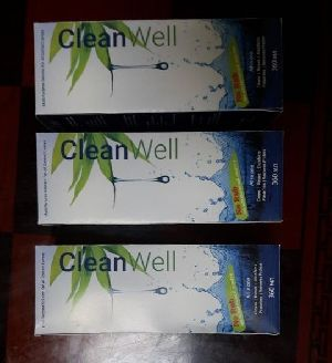 Clean Well Contact Lense Cleaning Solution