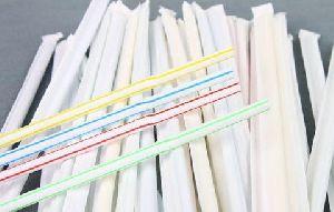 Prepack Straw With Hotel Logo Printing