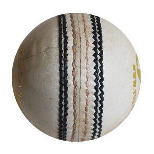 White Leather Cricket Balls