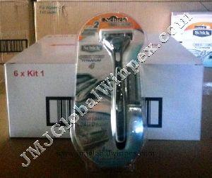 SCHICK Quattro Titanium Kit