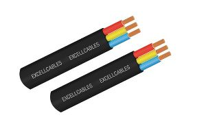 PVC Flat Submersible Cables