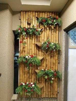 Bamboo interior decor