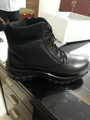 Security Leather Boot Pu Sole