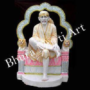 Lord Sai Baba Marble Statue
