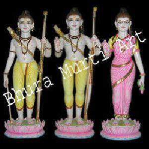 Marble Ram Darbar Statue 1