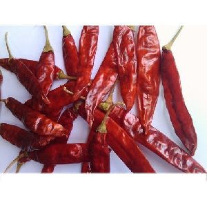 334 Dried Red Chilli With Stem