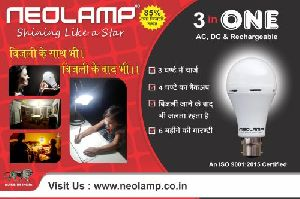 Rechargeable Bulb 01