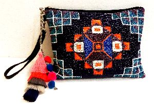 Handicraft Beaded Clutch