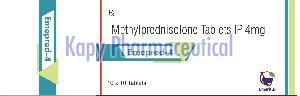 Methyl Prednisolone 4 mg Tablet